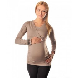 Majica za nosečnost in dojenje