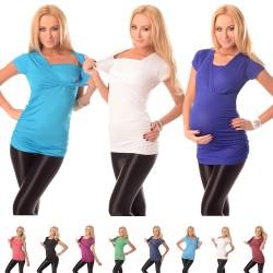 Majica za nosečnost in dojenje 7006