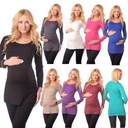 Tunika majica za nosečnost in dojenje