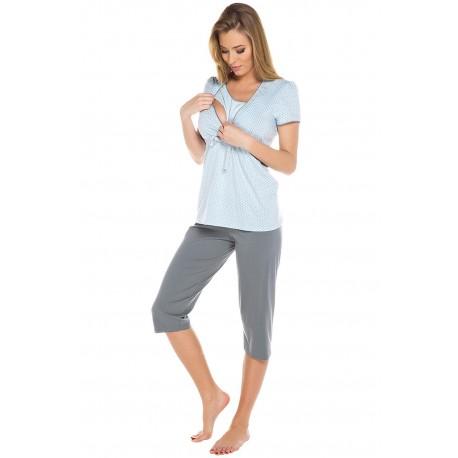 Pižama za nosečnost in dojenje