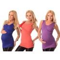 Majica za nosečnost in dojenje brez rokavov